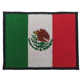 rodela bandera de mexico